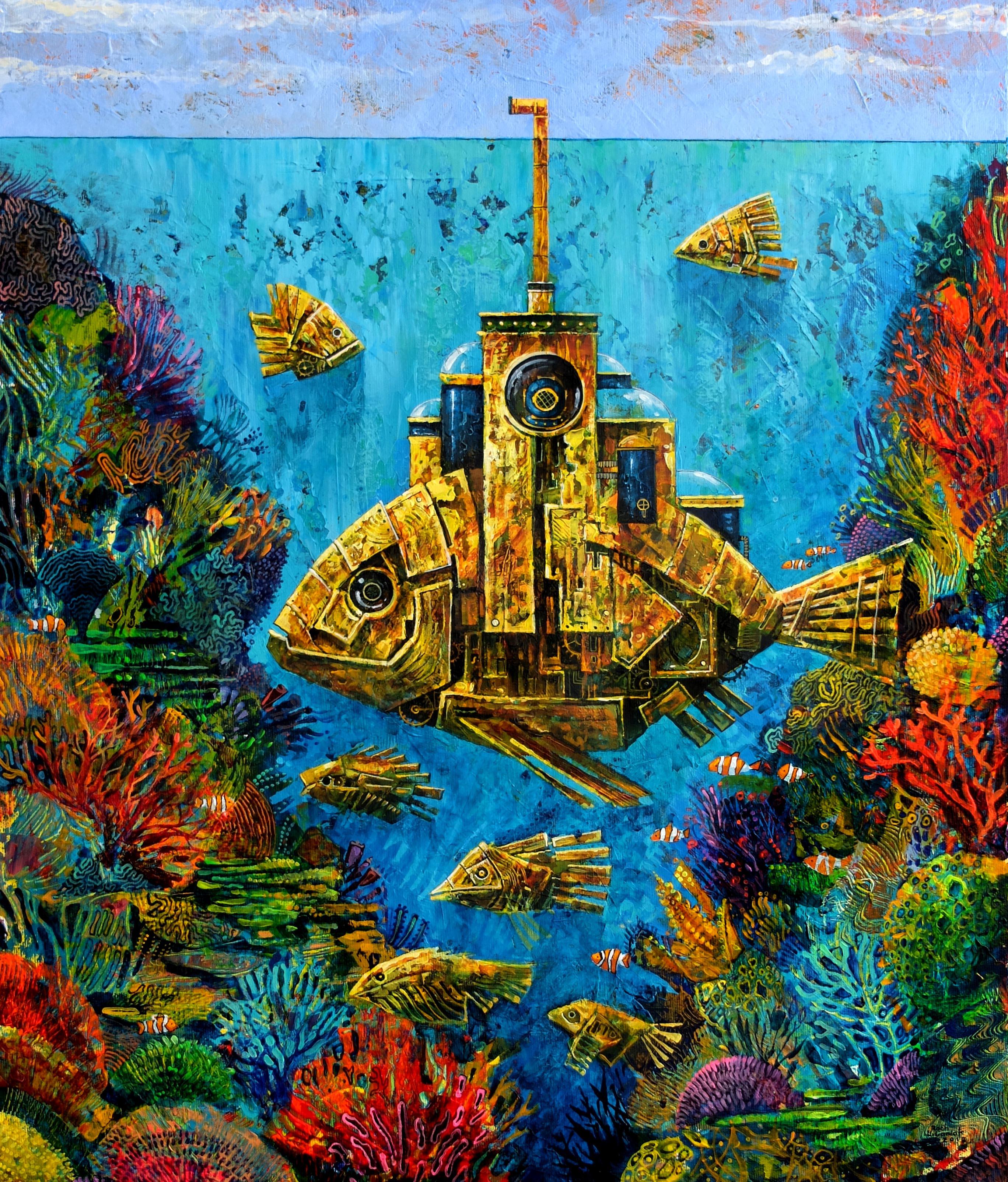 Złota Rybka, 60x50cm